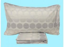 Completo  lenzuola matrimoniale puro cotone Bianca