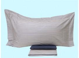completo lenzuola singole cotone pettinato Coralba