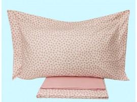 Completo lenzuola 1 piazza puro cotone pettinato