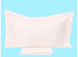 Completo lenzuola singole percalle di puro cotone Camillatex