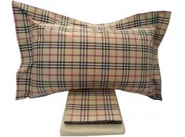 Completo lenzuola Matrimoniale in Percalle di puro cotone Tessitura Randi